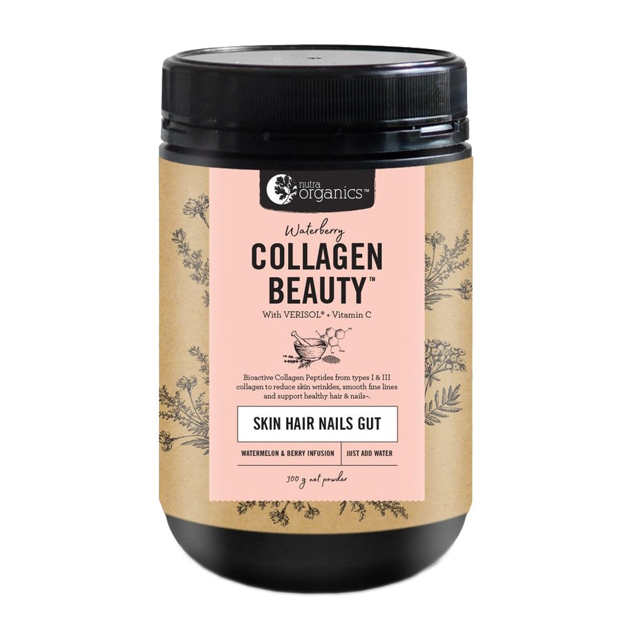 Nutra Organics Waterberry Collagen Beauty With Verisol + C 300g