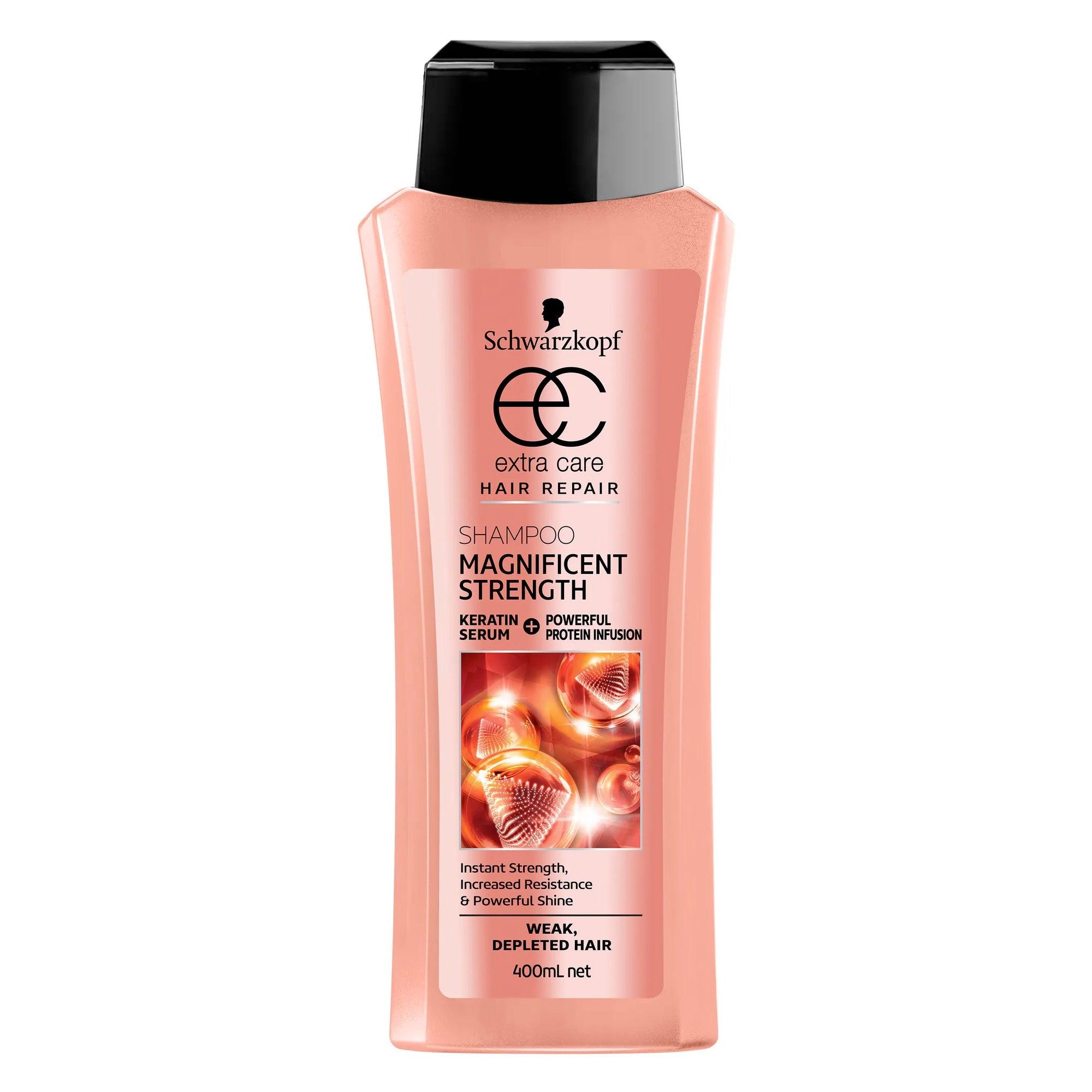 Schwarzkopf Extra Care Magnificent Strength Shampoo 400ml