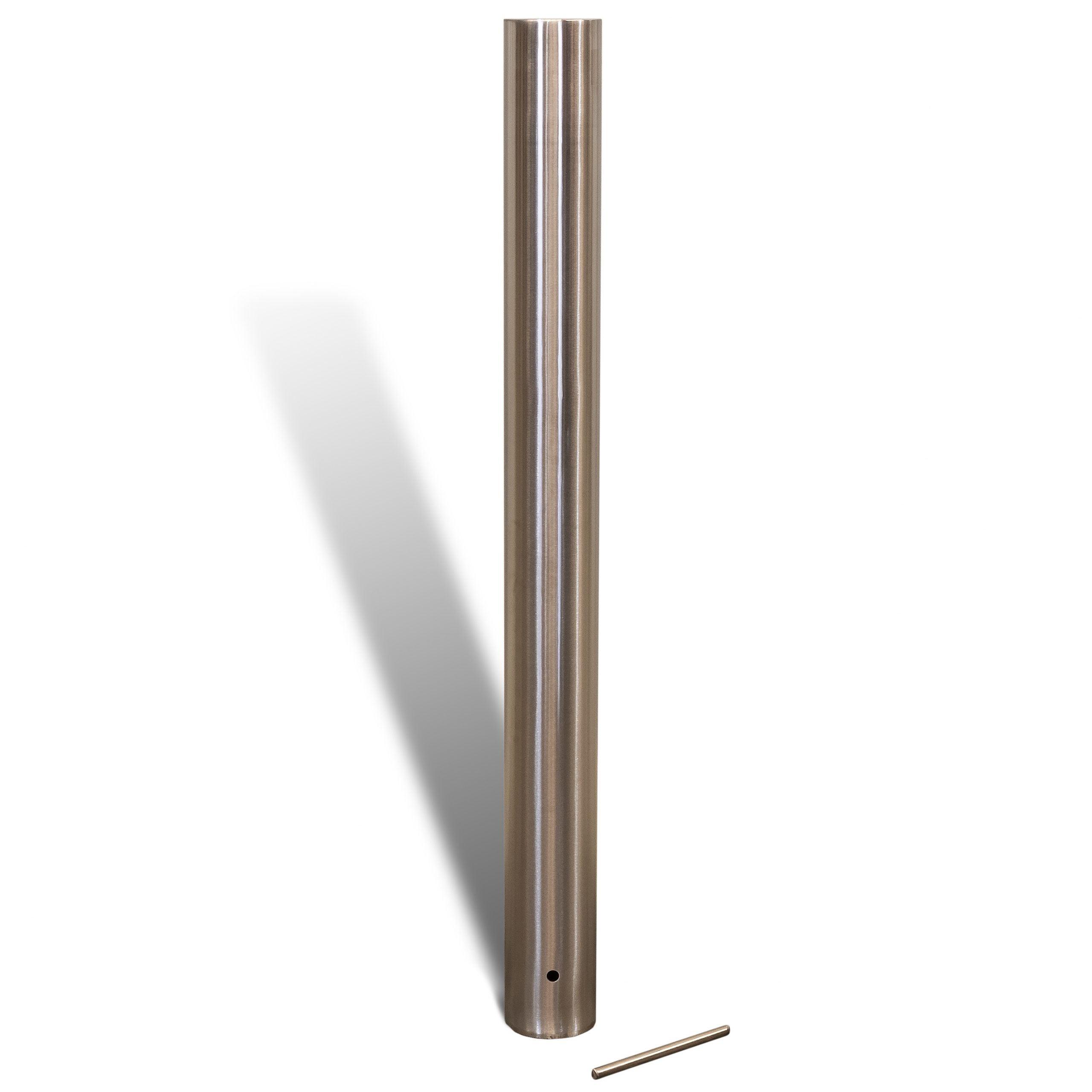 Inground Bollard - 140mm - Stainless Steel