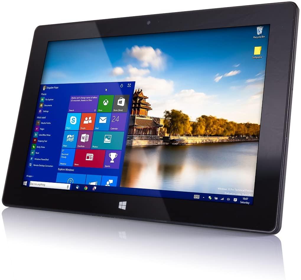 "10"" Windows 10 Fusion5 FWIN232 PLUS S1 Ultra Slim Windows Tablet PC- (4GB RAM, USB 3.0, Intel, 5MP and 2MP Cameras, Windows 10 S Tablet PC) (64GB)"