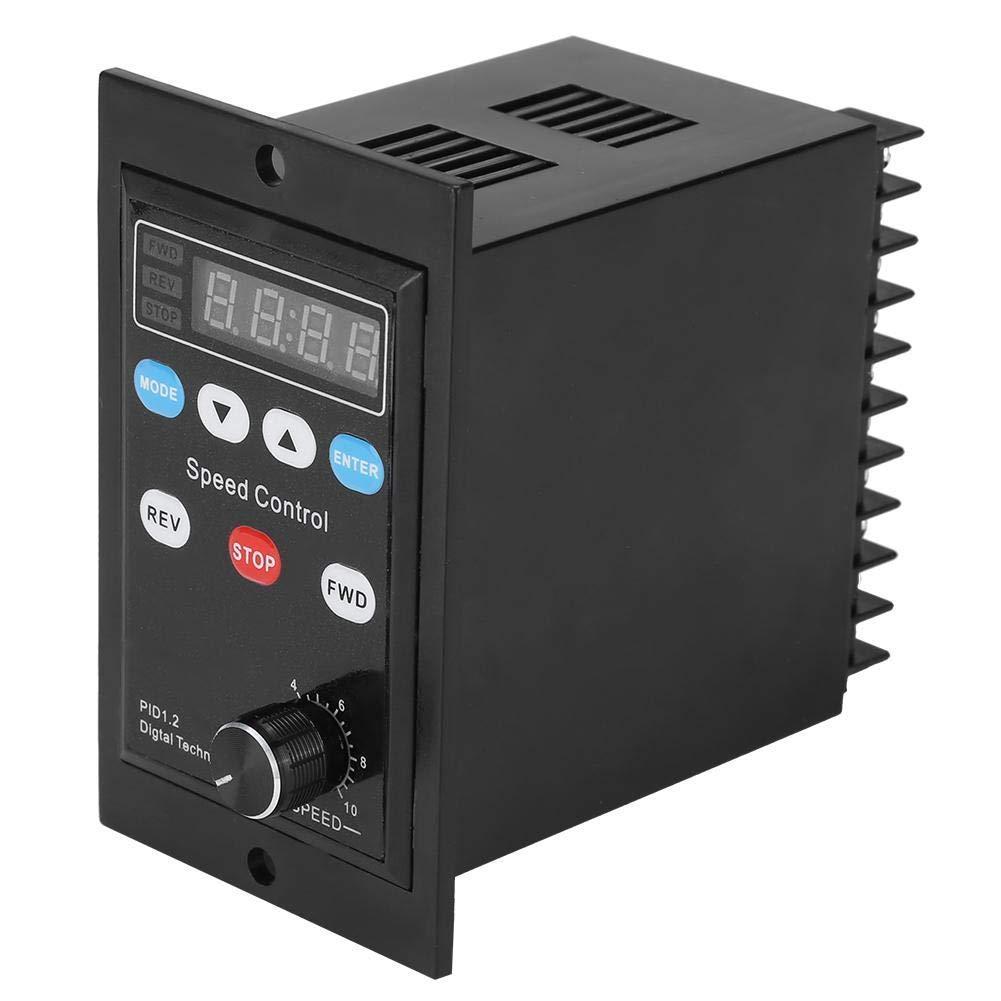 400W Motor Speed Controller AC 220V Digital Display Motor Governor Soft Start Speed Regulator Motor