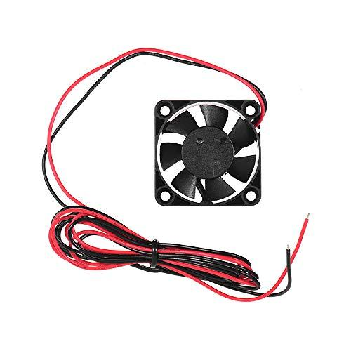 Aibecy 4010 Brushless Cooling Fan 40 * 40 * 10mm 24V DC with Ball Bearing Compatible for Creality Ender 3 3D Printer Extruder