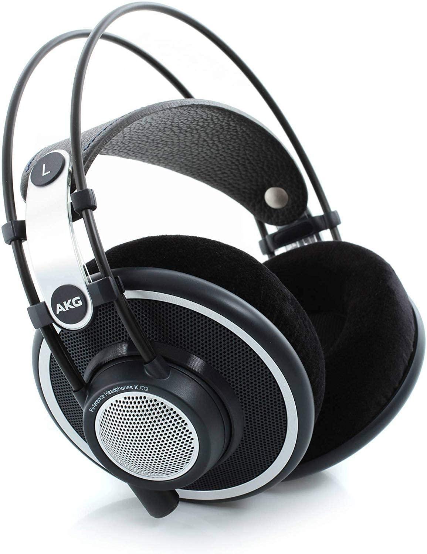 AKG K702 Open-Back Over-Ear Premium Studio Reference Headphones