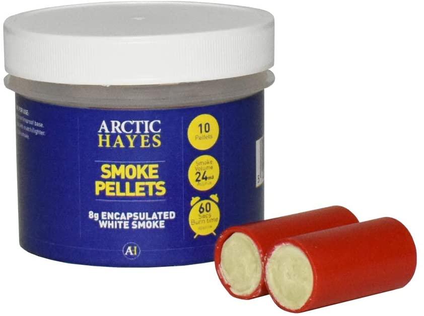 Arctic Hayes Encapsulated White Smoke 10-Pieces Pellet Tub