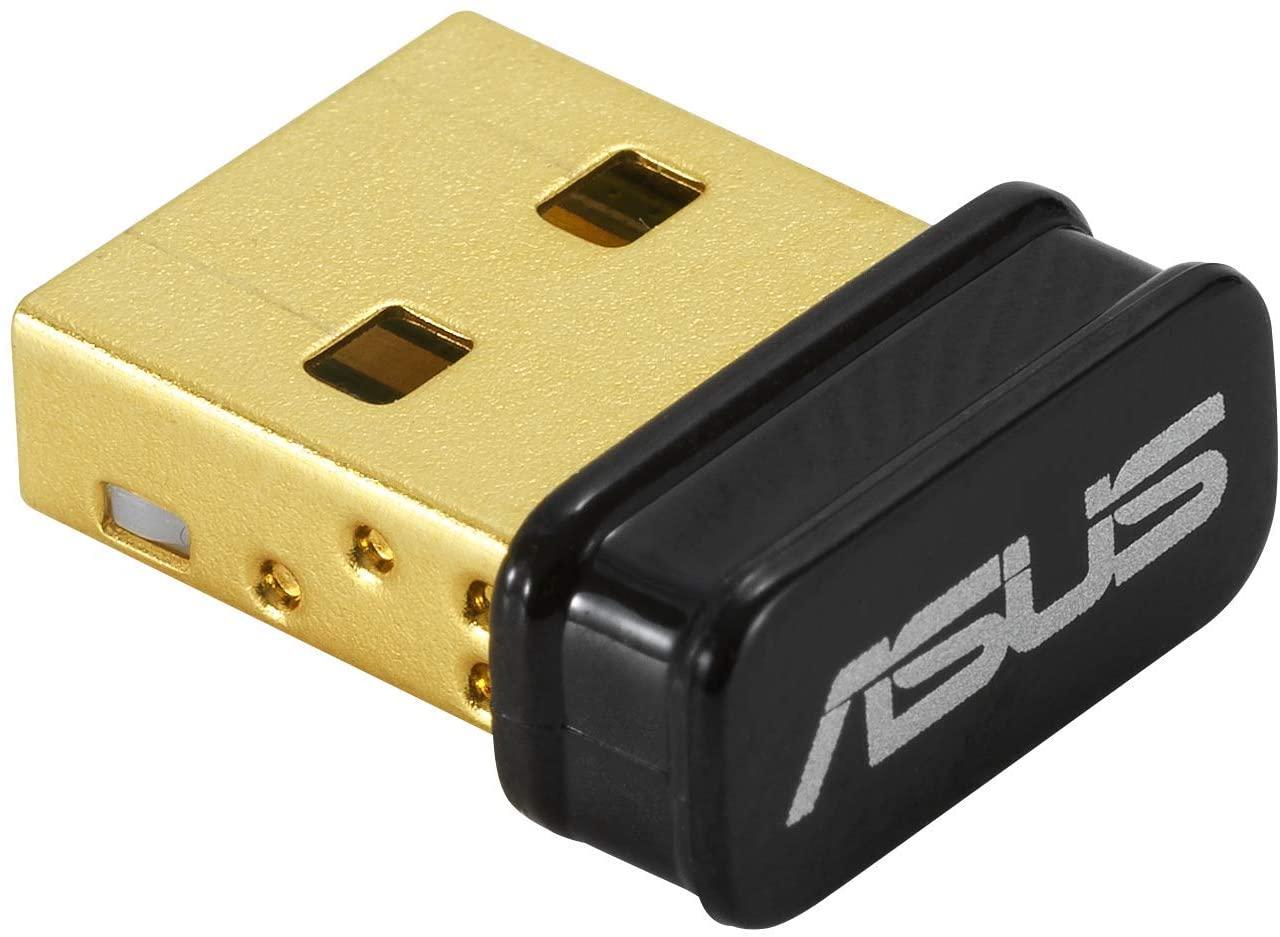 ASUS USB-BT500 Bluetooth 5.0 USB Adapter, 2x data transfer, 4x signal range, full backward compatibility with Bluetooth 4.x, 3.x, and 2.1.