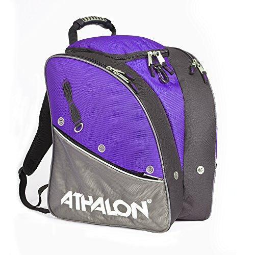 Athalon Tri Boot Bag (Purple/Gray)