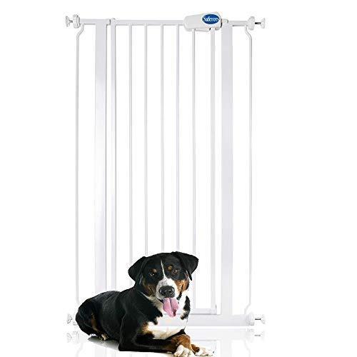 Bettacare Child and Pet Gate Range 75cm - 147.5cm (68.5cm - 75cm, White)
