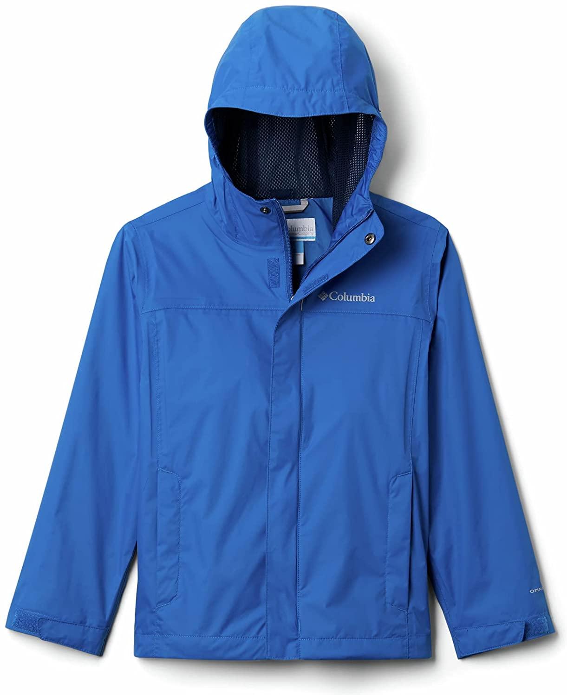 Columbia Watertight Waterproof Jacket - Blue, XXS