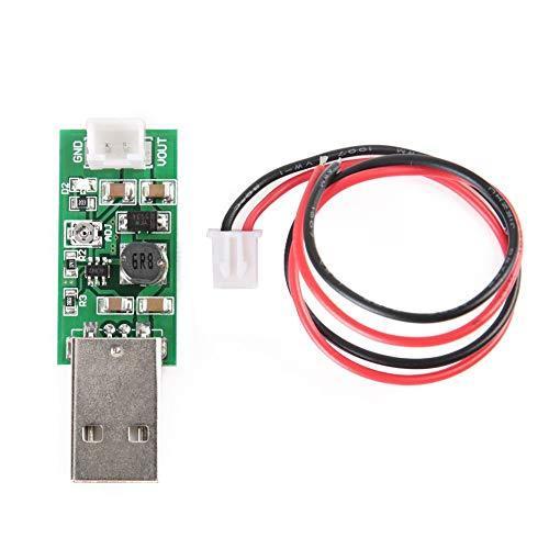 DC-DC Boost Converter 7W USB DC 5V to 6V 9V 12V 15V Adjustable Output Voltage Step-up Regulator Board