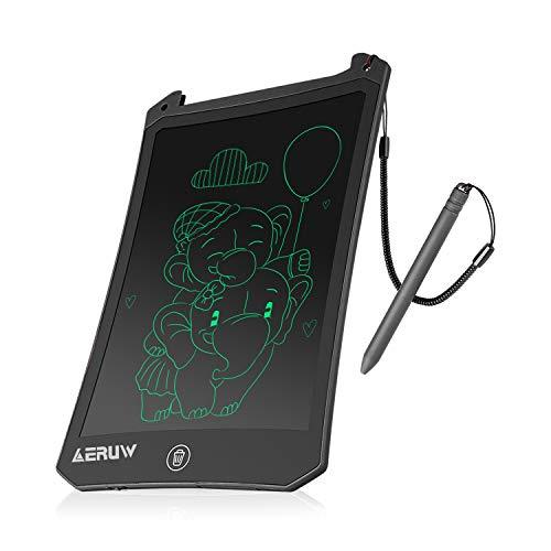 ERUW LCD Writing Tablet, 8.5 Inch Electronic Writing tablet Mini Board Handwriting Doodle Board Gift for Kids & Adults Home School Office Drawing pad -balck