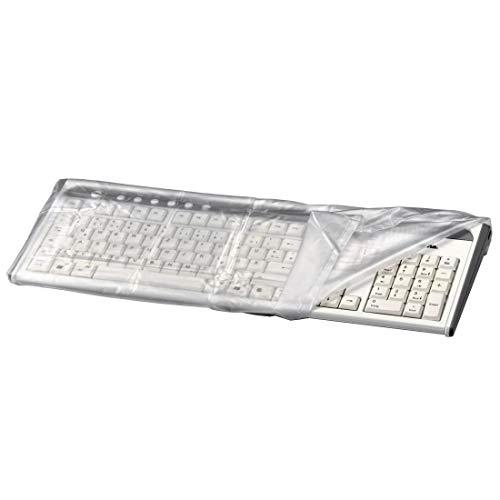Hama - Protective Dust Cover for Keyboards - Transparent - 48 x 5 x 21.5 cm