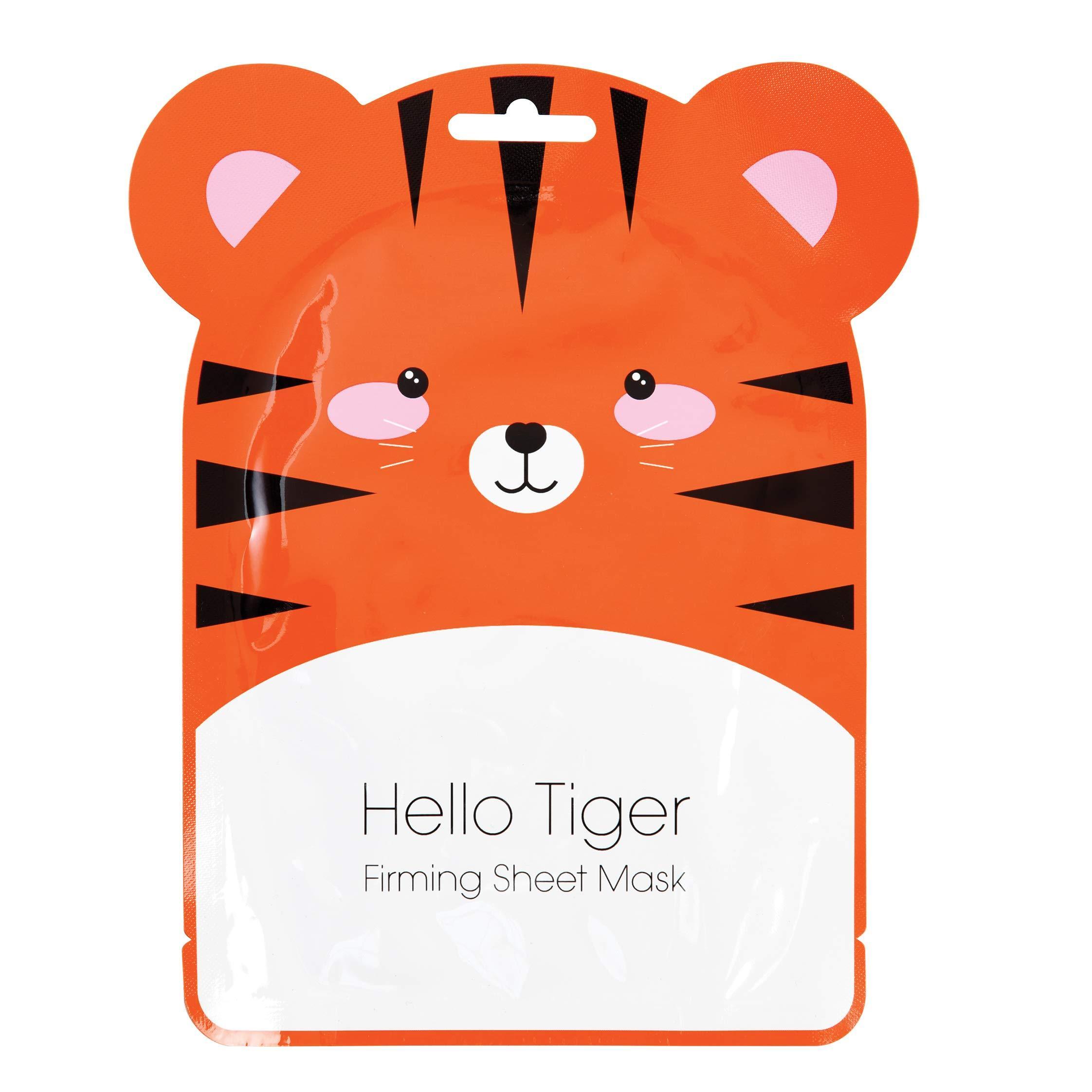 Hello Tiger Korean Made Firming Sheet Face Mask