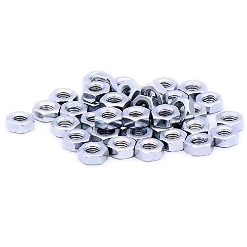 M3 (3mm) Hex Nut - Steel (Pack of 40)