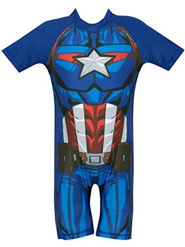 Marvel Avengers Boys Captain America Swimsuit Age 18 to 24 Months