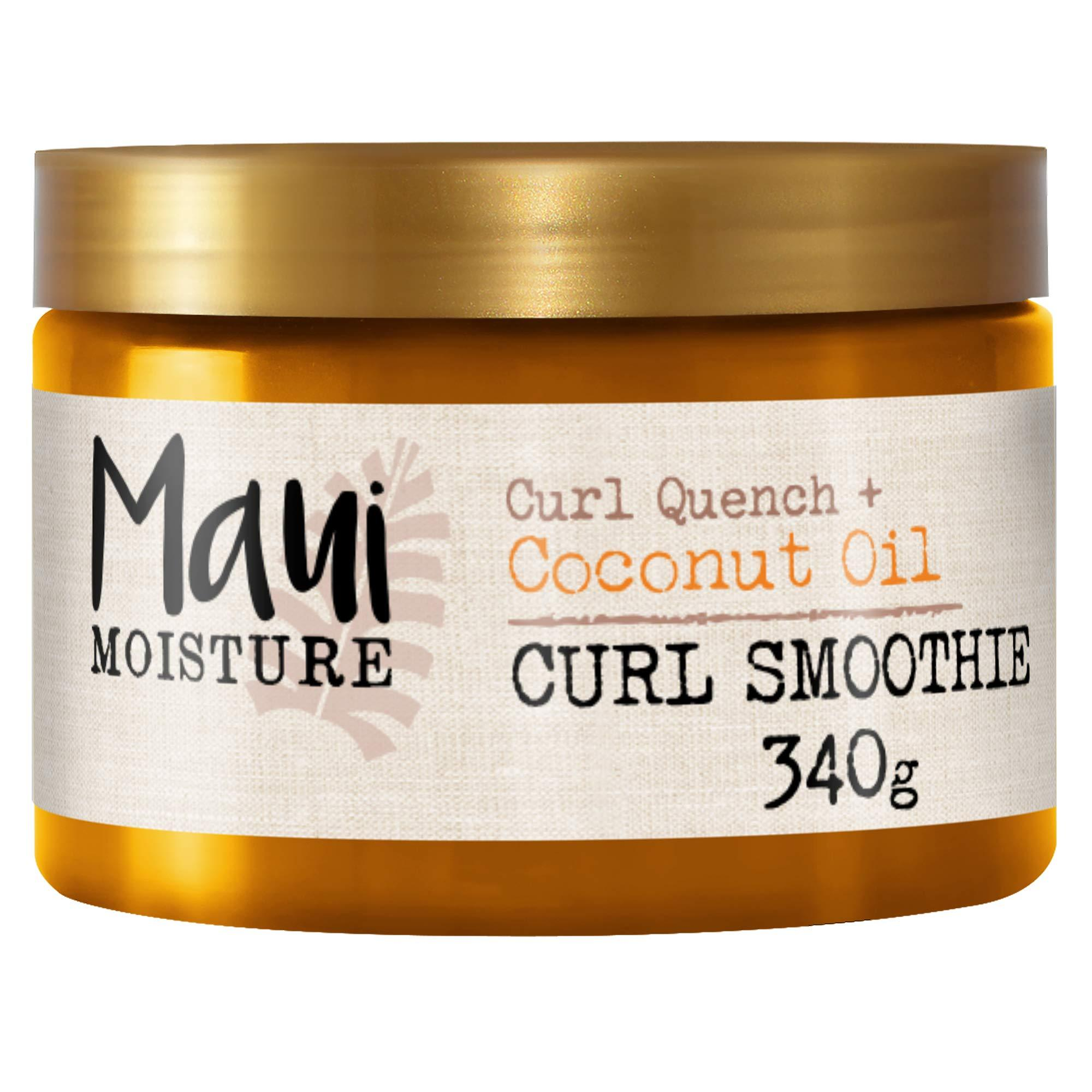 Maui Moisture Curl Quench + Coconut Oil Curl Smoothie, 340g