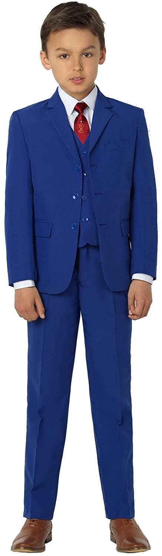 Paisley of London, Boys Blue Suit, Communion Suit, 6 Years
