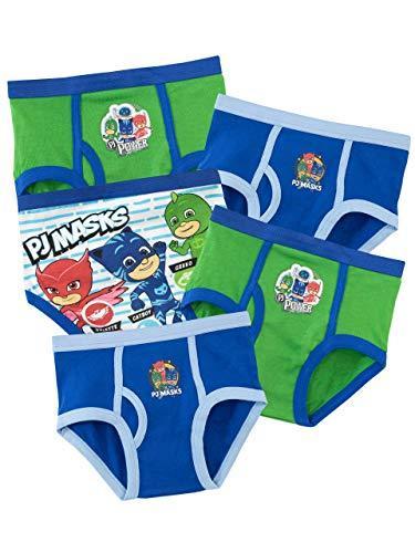 PJ MASKS Boys Gekko Owlette Catboy Briefs Pack of 5 Multicoloured Age 2 to 3 Years