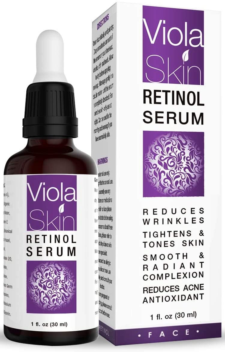 PREMIUM Retinol Face Serum with Hyaluronic Acid & Vitamin E, Anti Aging Retinol Serum for Wrinkles, Fine Lines & Sensitive Skin, Hydrate & Brighten your look! 100% Satisfaction