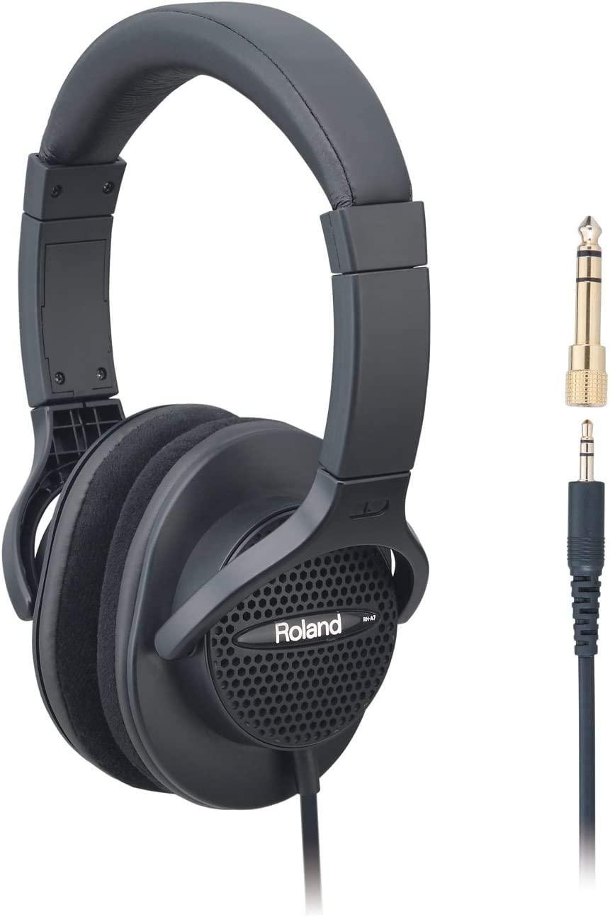 Roland RH-A7 Monitor HeadphOnes - Open-Air HeadphOnes, Black