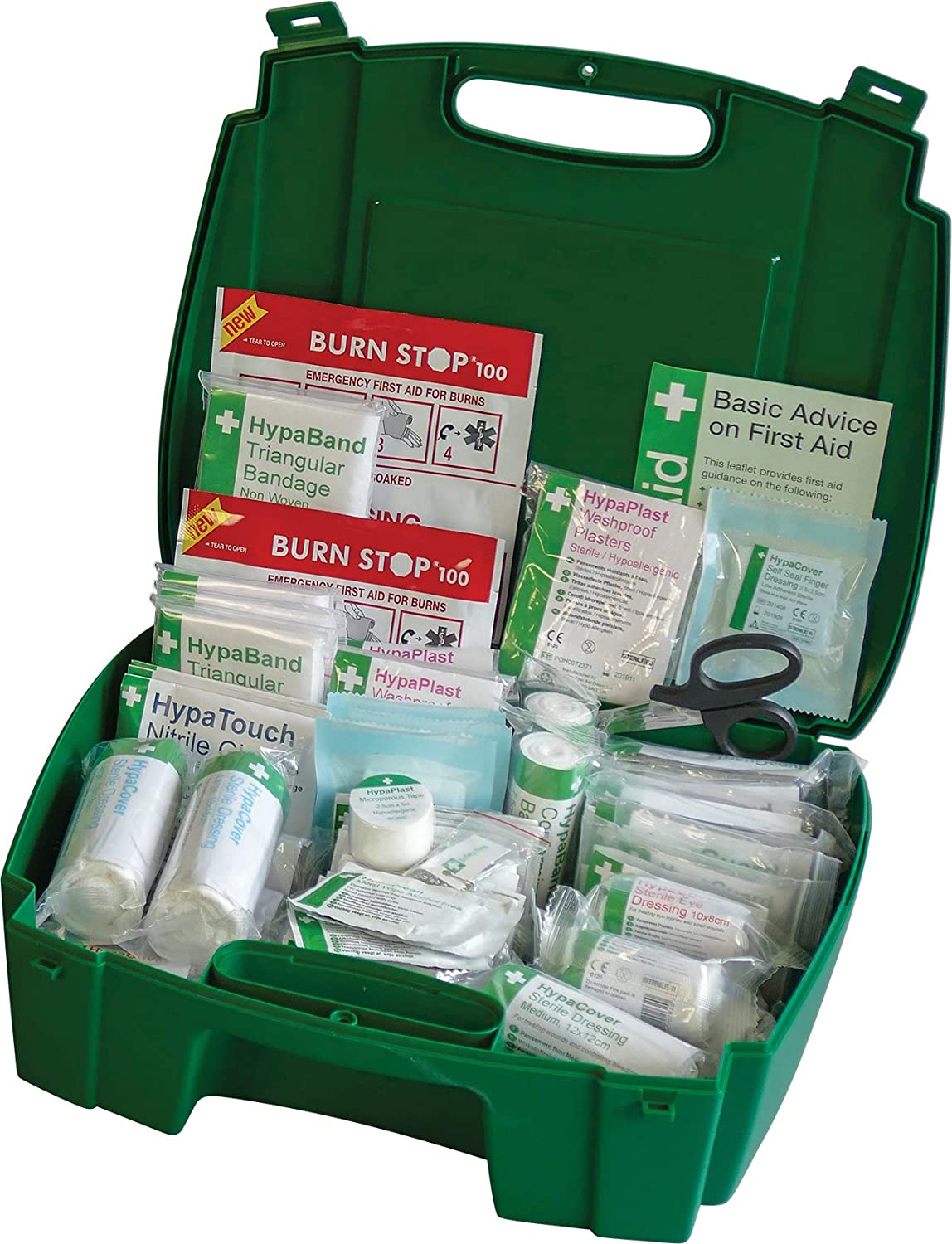 Safety First Aid Evolution Workplace First Aid Kit BS 8599 Compliant, Large