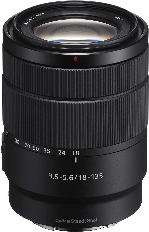 Sony SEL18135, E 18-135mm F3.5-5.6 OSS E-Mount Lens