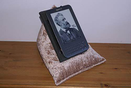 """Techbed Beanbag Stand compatible with iPad 9.7"""" Tablets, paperback books, ebook readers or ereaders"""