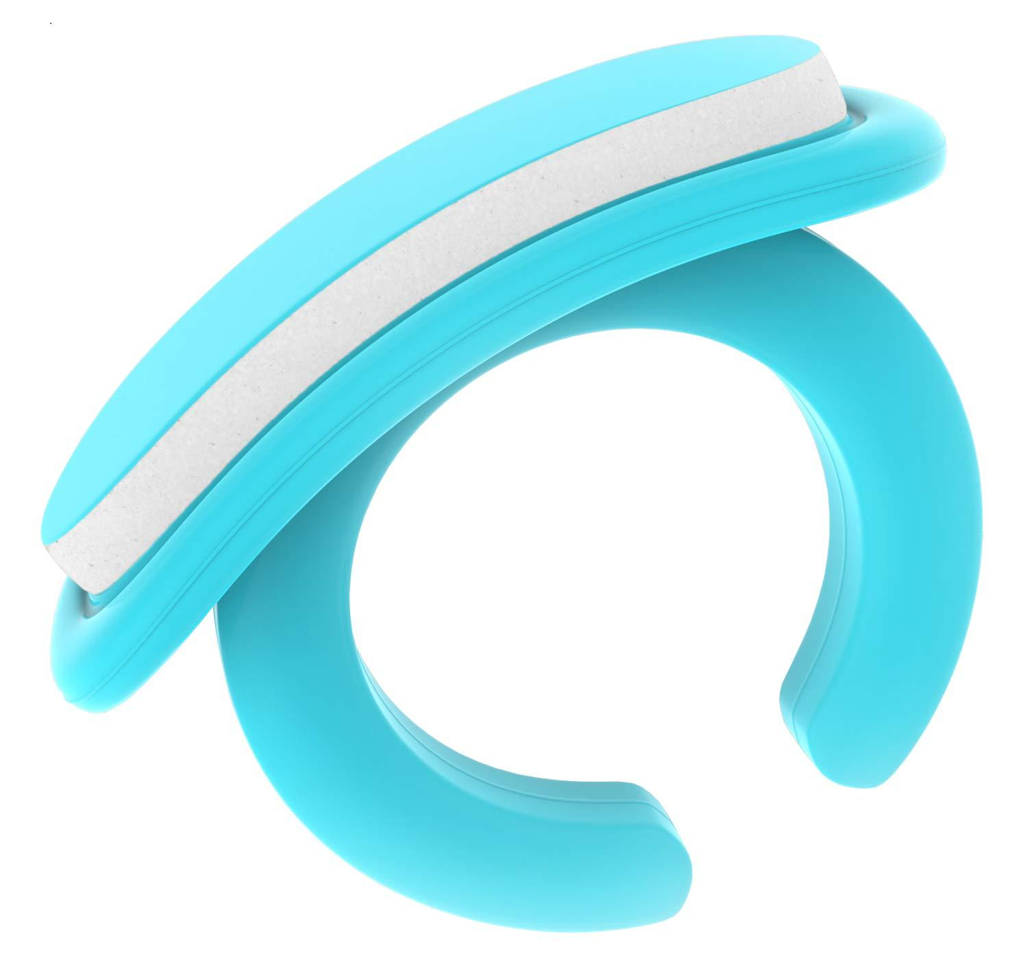 Wearable Baby Nail File with a Ring for Your Finger I Very Useful Baby Nail Care Set for Newborns I 18 Snap-Off Disposable Files/Baby Nail File (New Baby)