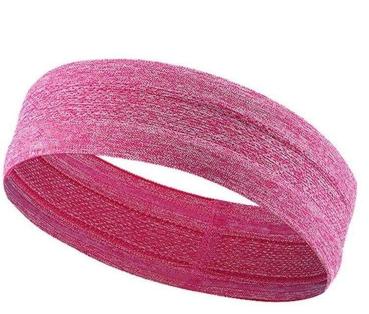 SPORX Fabric Loop Headband Sweatband Bandana Pink