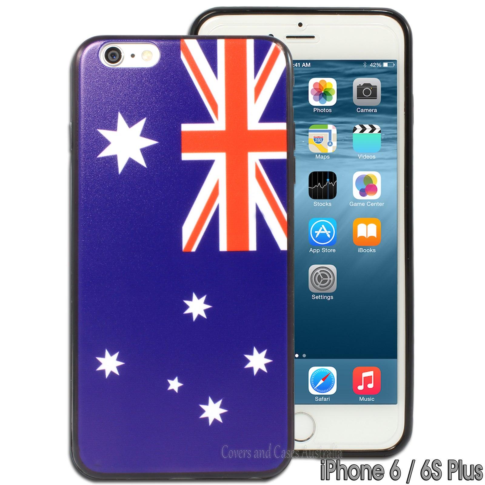 "Australian Flag Hard Back Case for Apple iPhone 6 Plus 6S Plus (5.5"")"