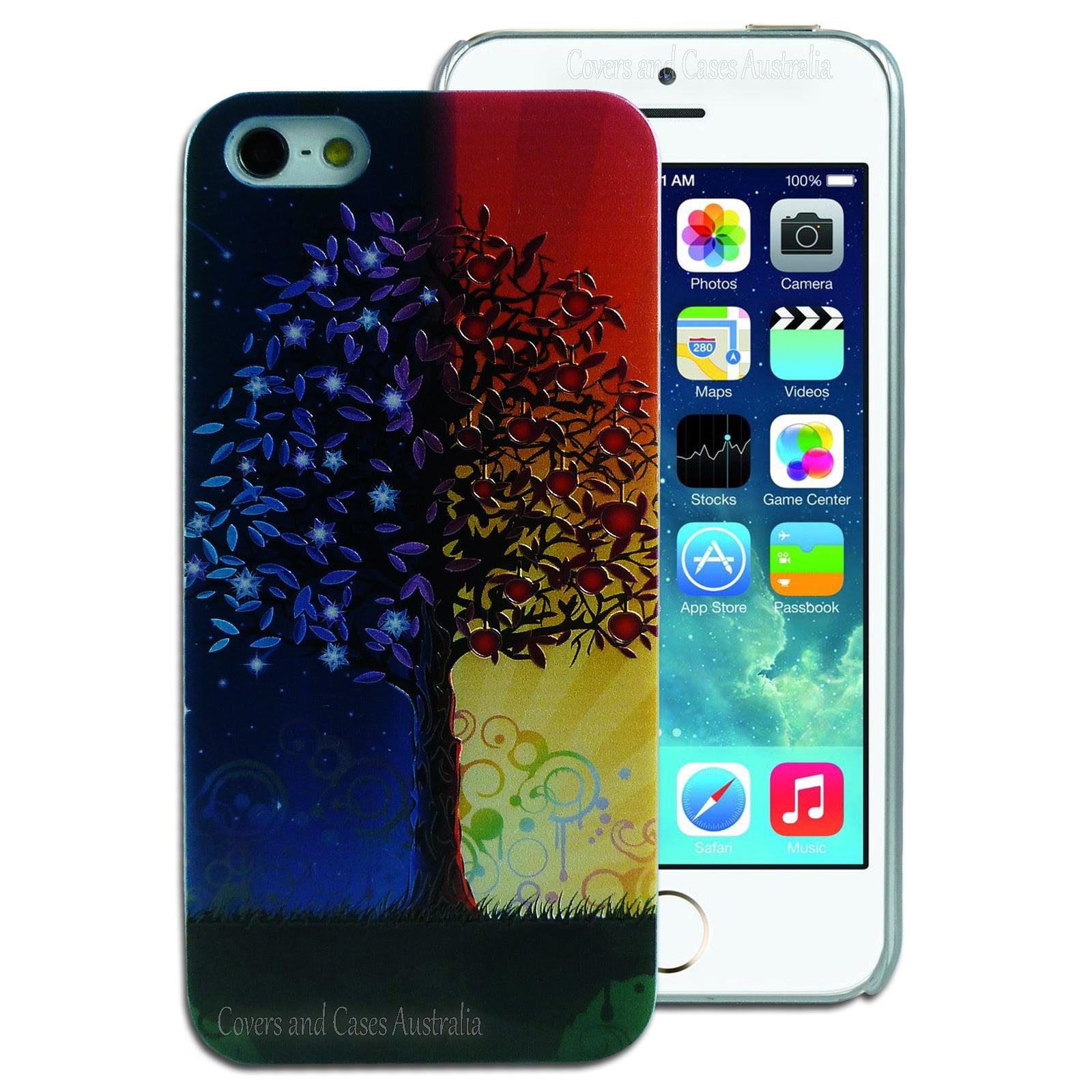 Autumn Tree Hard Back Case for Apple iPhone 5 5S SE