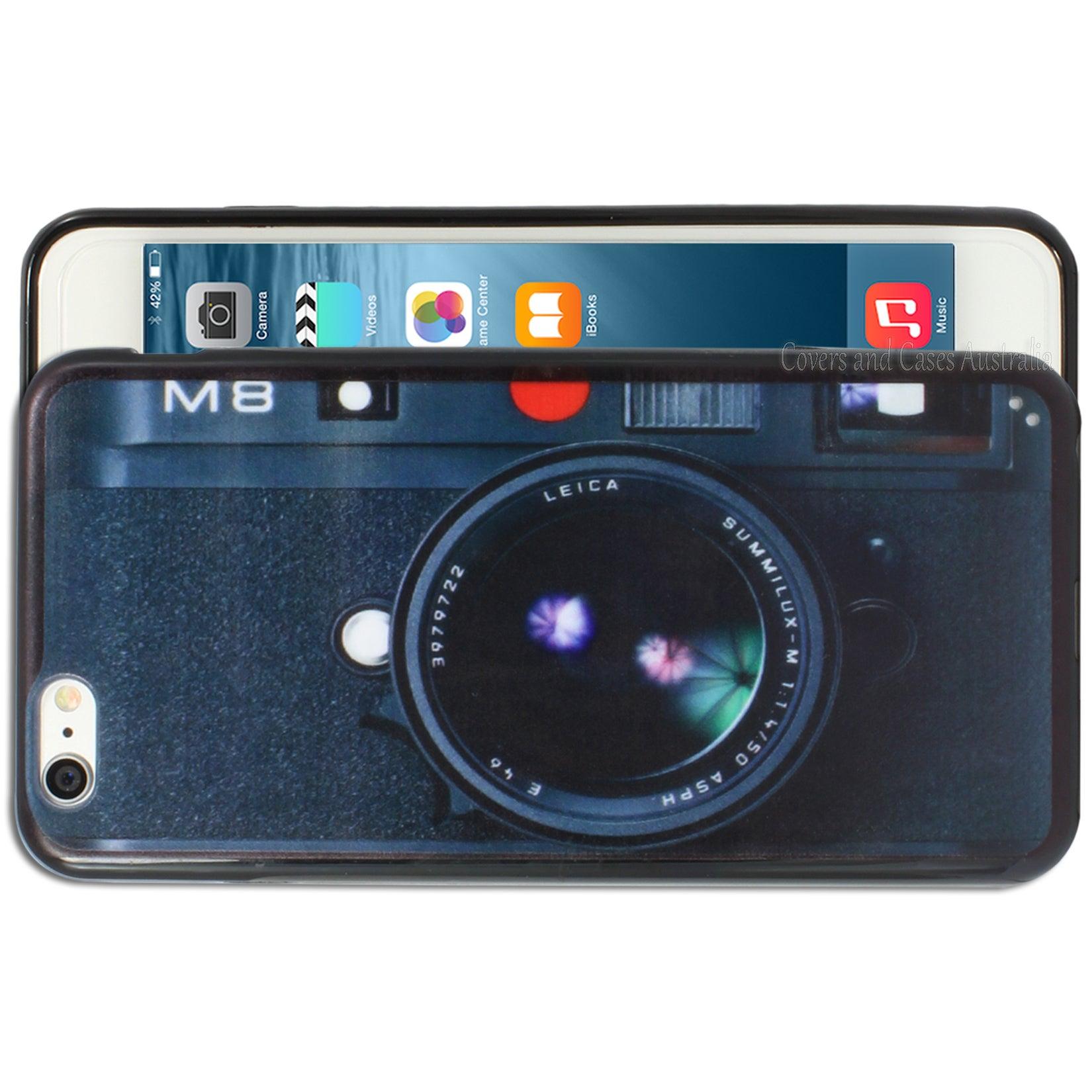 Camera Printed Case for Apple iPhone 6 Plus 6S Plus Cover