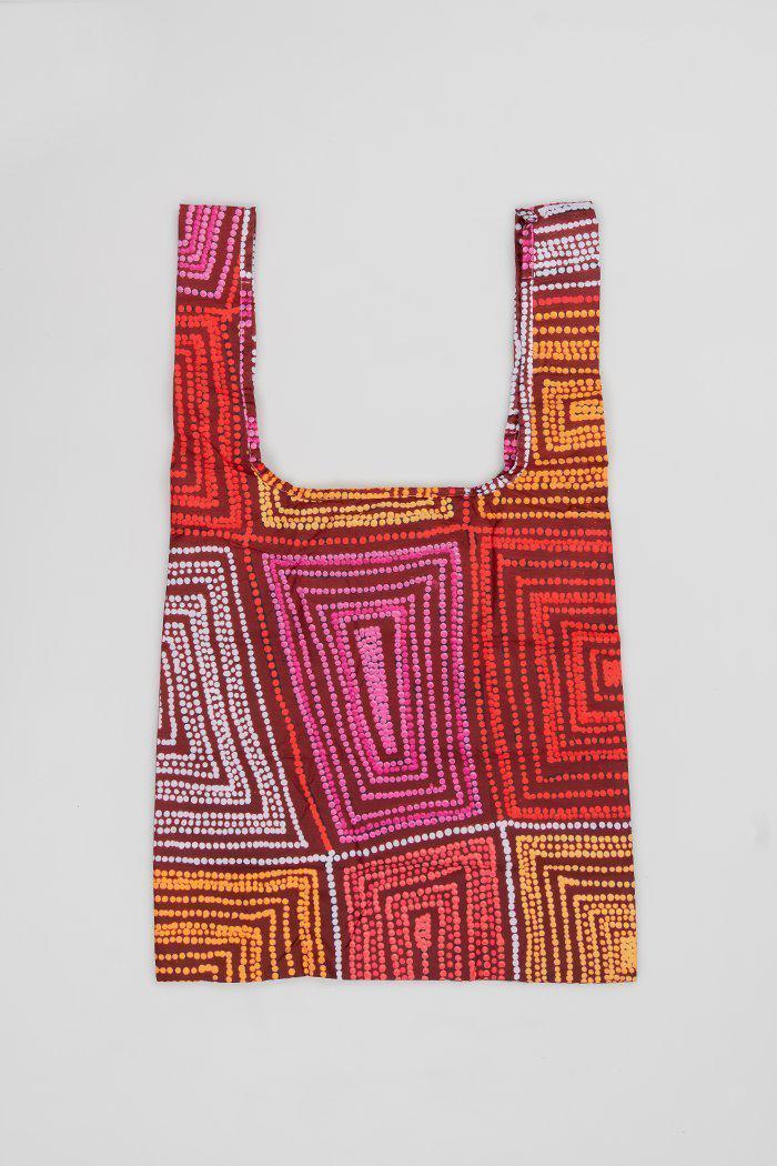Karnta Jukurrpa rPET Fold-Up Bag