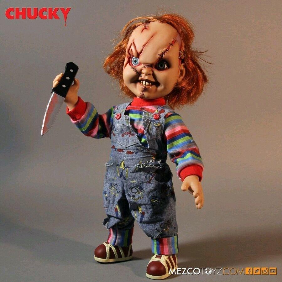 """15"""" Chucky Figure Mezco Bride Of Chucky"""