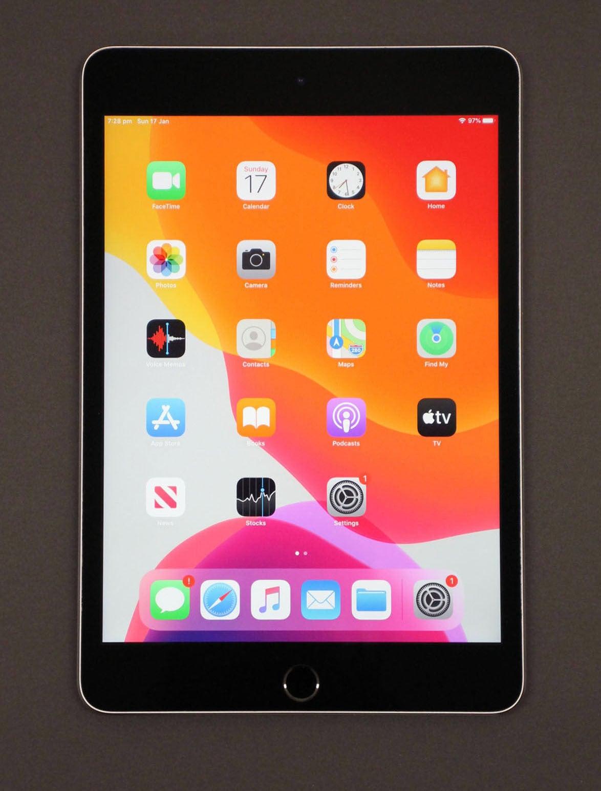 "Apple iPad Mini 4 128GB WiFi 7.9"" Tablet Space Grey MK9N2X/A (Pre-owned)"