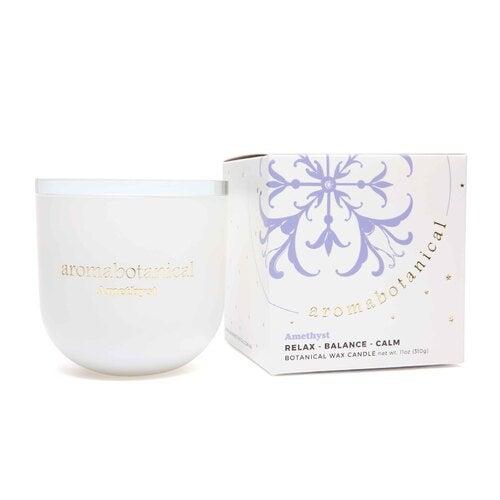 Aromabotanical Crystal Candle - Amethyst