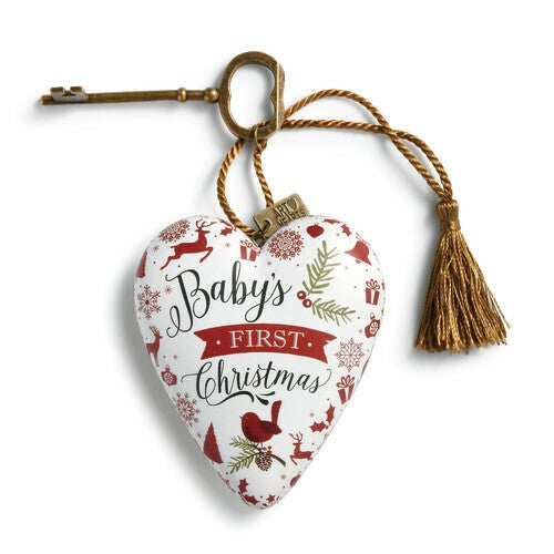 Art Hearts - Baby's First Christmas