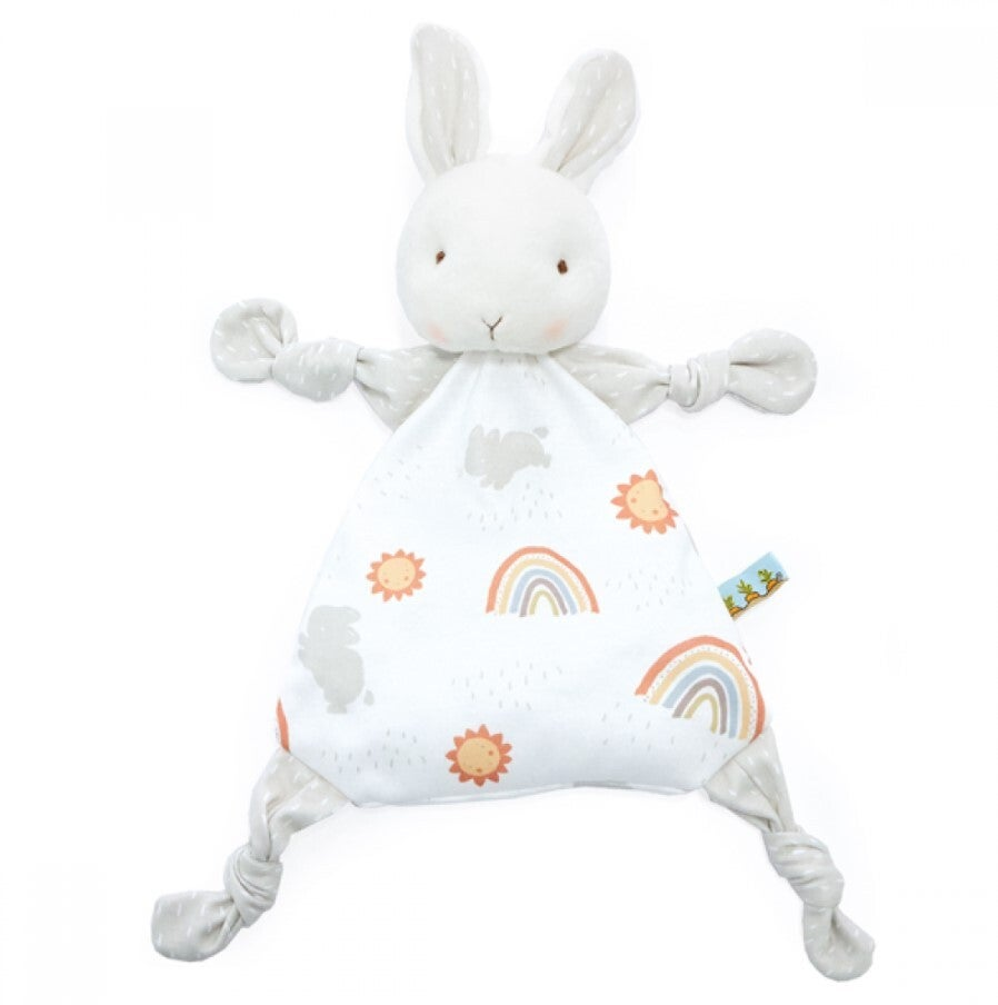 Bunnies By The Bay Knotty Teether Blankie - Little Sunshine