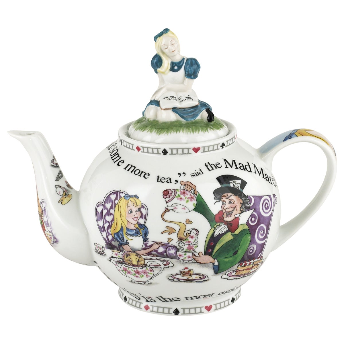 Cardew Design Alice in Wonderland 1.4L Teapot