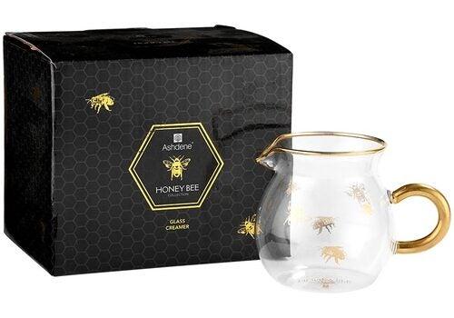 Honey Bee - Glass Creamer