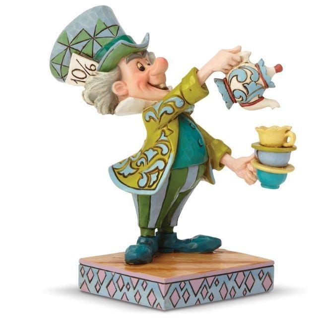 Jim Shore Disney Traditions - Alice In Wonderland Mad Hatter - A Spot of Tea
