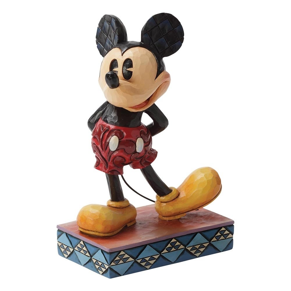 Jim Shore Disney Traditions - Mickey Mouse - The Original Personality Pose