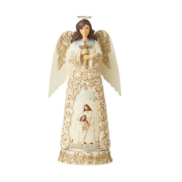 Jim Shore Heartwood Creek Holiday Lustre - Nativity Angel
