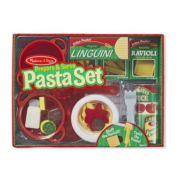 Melissa & Doug Kitchen Play - Prepare & Serve Pasta Set