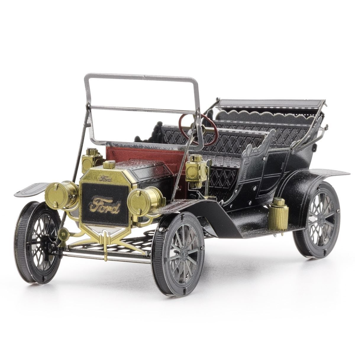 Metal Earth - 3d Metal Model Kit - 1908 Ford Model T (Dark Green)