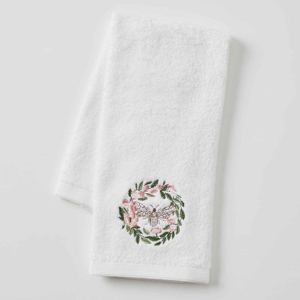 Pilbeam Living - Floral Bee Hand Towel