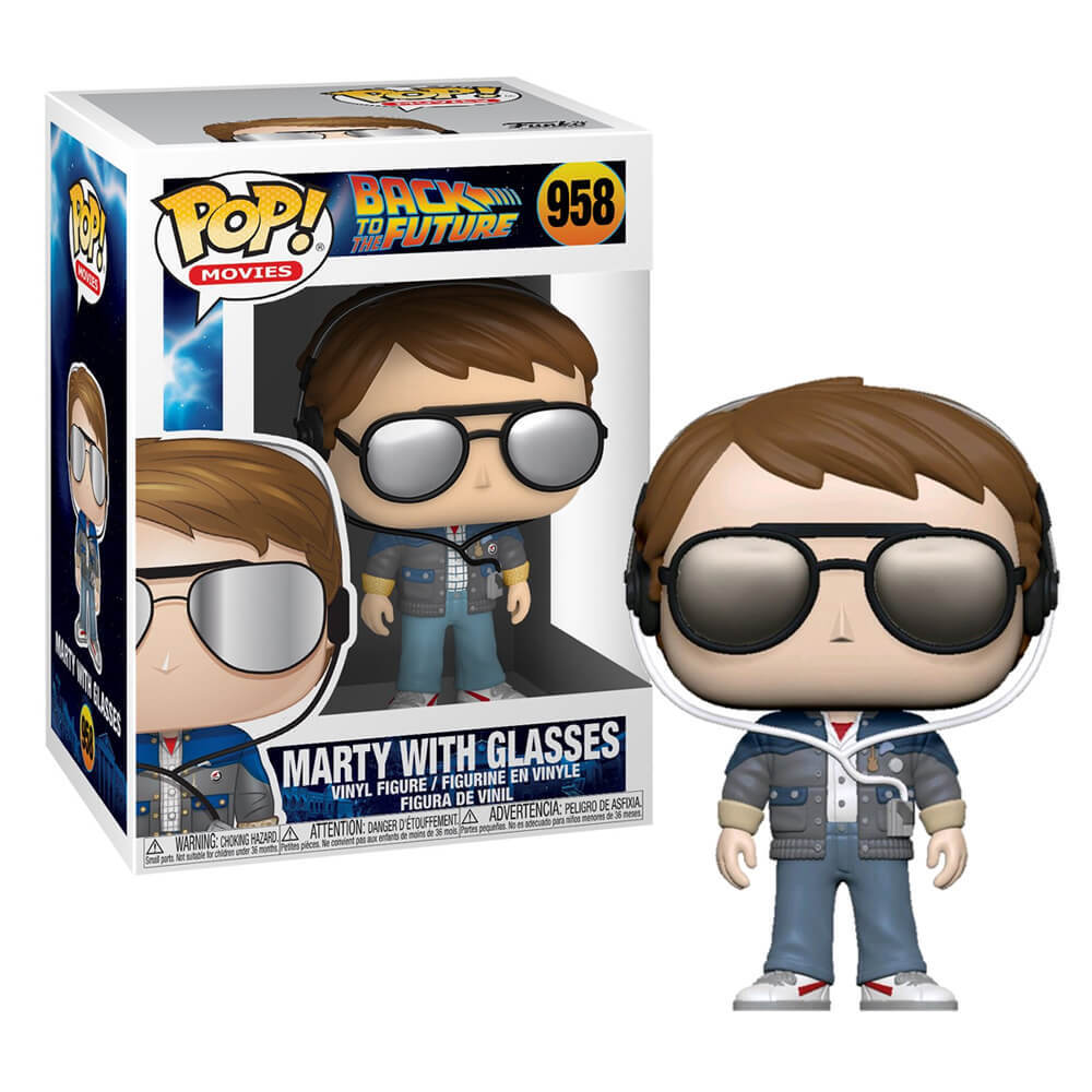 Pop! Vinyl - Back to the Future - Marty with Sunglasses
