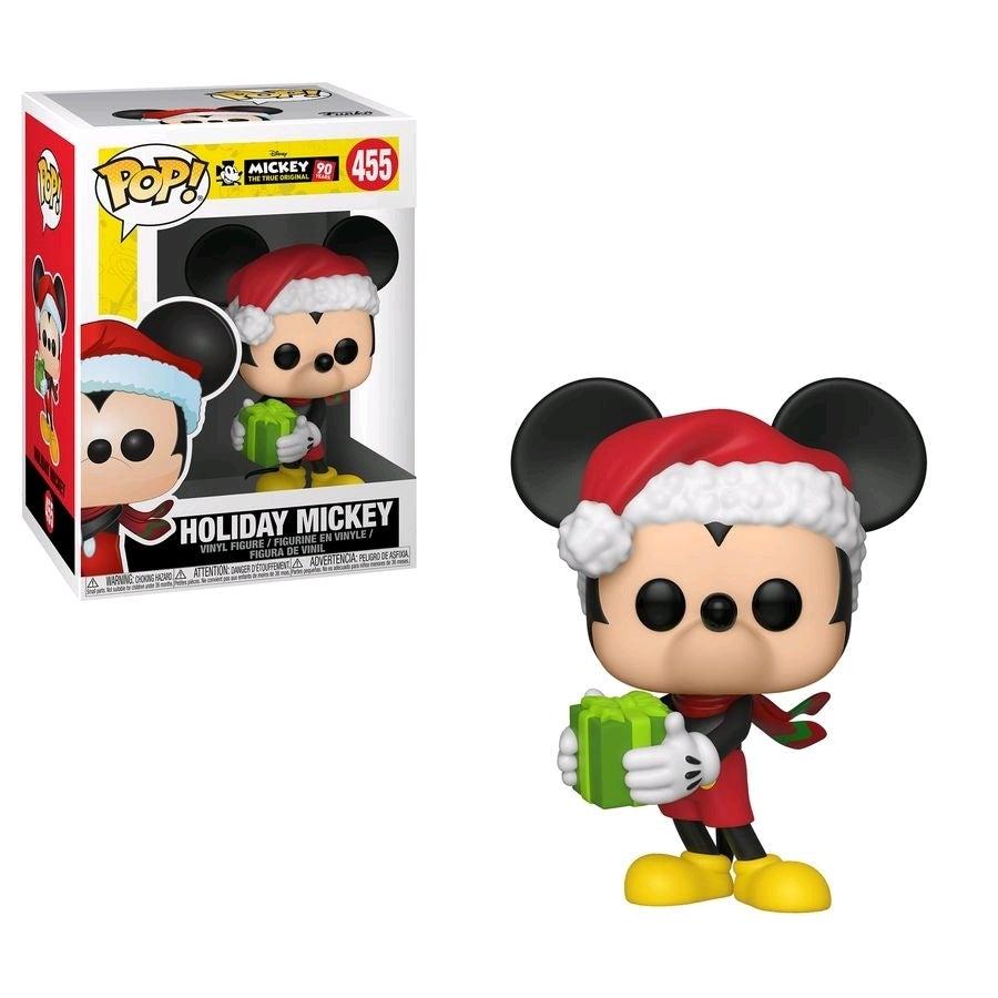 Pop! Vinyl - Disney Mickey Mouse - 90th Anniversary Holiday Mickey