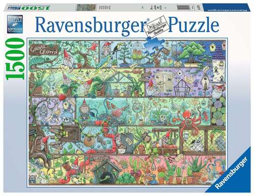 Ravensburger Puzzle 1500pc - Gnome Grown