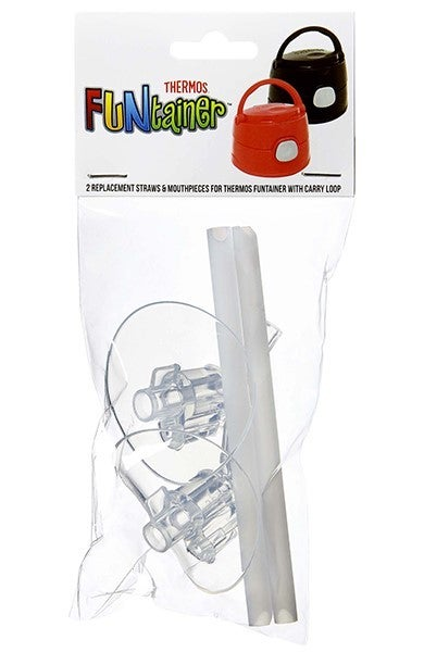 Thermos Funtainer Replacement Mouthpieces & Straws (For 355ml Drink Bottle with Carry Loop)