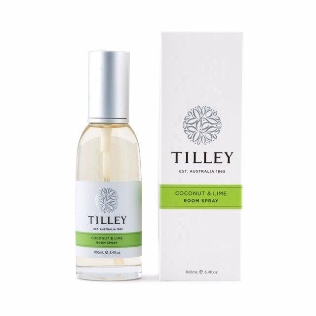Tilley Room Spray - Coconut & Lime 100ml